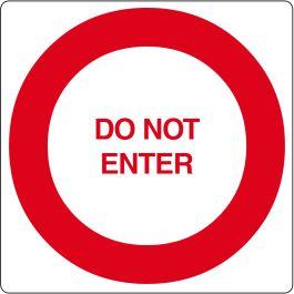 """Gulv-piktogram for """"Do Not Enter"""""""