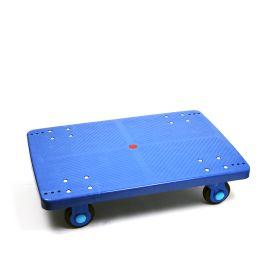 Plastic platform dolly, 300 kg load capacity