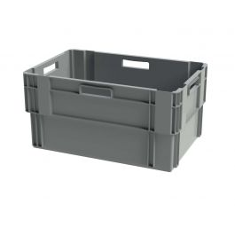 Euronorm Stabelbar Opbevaringskasse, 400x600x300 mm