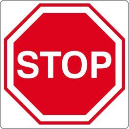 """Gulv-piktogram for """"Stop"""""""