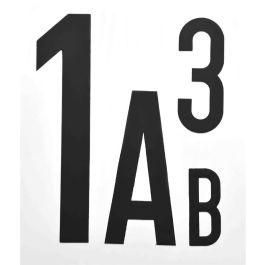Magnetiske bogstaver og tal (per stk.)