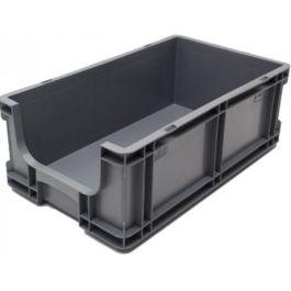 Kasse med lige sidevægge 260x505x165 mm med åben front