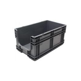 Kasse med lige sidevægge 260x505x210 mm med åben front