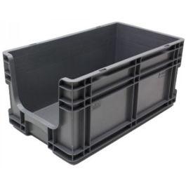 Kasse med lige sidevægge 295x505x235 mm med åben front