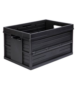 Evo Sammenklappelig kasse - 46 liter, sort