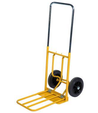 Kongamek sækkevogn med lasteflade, som kan slås op, kapacitet 150 kg