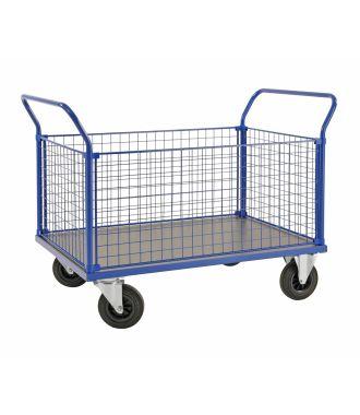 Kongamek trådnetsvogn, kapacitet 500 kg