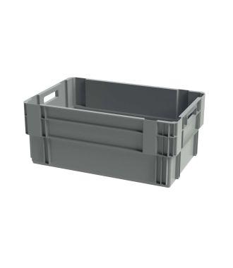 Euronorm Stabelbar Opbevaringskasse, 400x600x250 mm