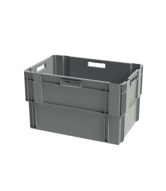 Euronorm Stabelbar Opbevaringskasse, 400x600x360 mm