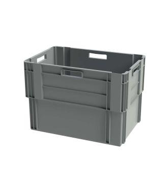 Euronorm Stabelbar Opbevaringskasse, 400x600x420 mm