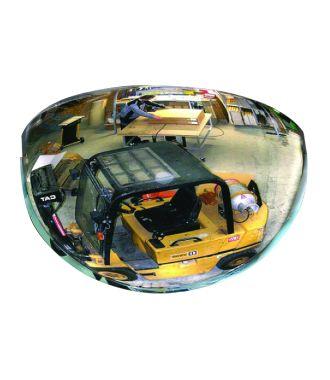 Kuppel-spejl - 1/2 kuppel - 180°