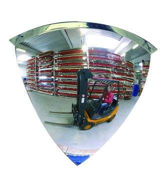 Kuppel-spejl - 1/4 kuppel - 90°