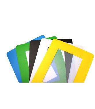 ColorCover selvklæbende gennemsigtigt dokumentafdækning til gulvet (10 stk.)