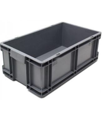 Kasse med lige sidevægge 260x505x165 mm