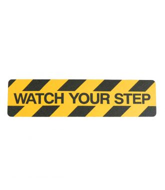 """Watch your step"" anti slip grip tape"