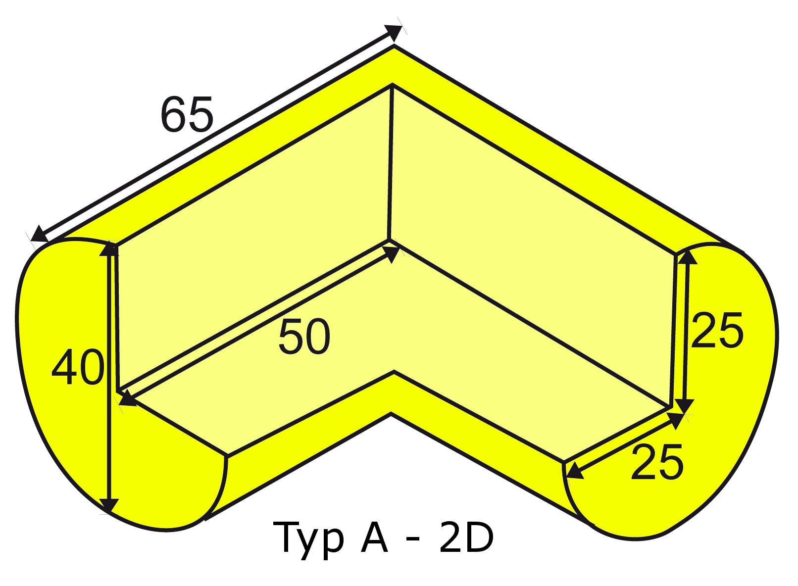 Knuffi multi-corner bumber A-2D type